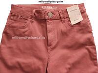 New Womens Marks & Spencer Pink Jeggings Size 10 Short Leg 27 / 26