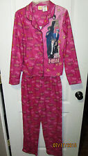 Youth Girls XL 14 16 High School Musical Flannel Pajamas Most Likely To Succeed