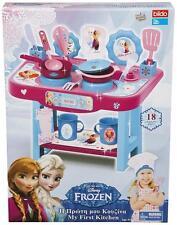 Frozen Disney My First Kitchen Girls Play Set Utensil Christmas Kids Gift New