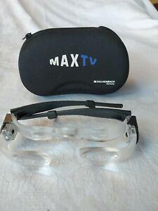 Brille Max TV Eschenbach Germany, Lupenbrille, Fernsehbrille im Etui