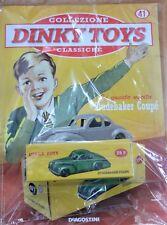 DINKY TOYS SIMCA STUDEBAKER coupé MINIATURES 1:43 FRANCE VOITURE MODEL DE