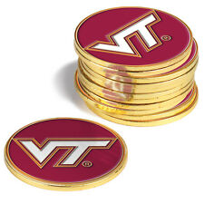 Virginia Tech Hokies 12 Pack Golf Ball Markers