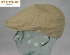 STETSON PARADISE Flatcap Baumwolle Sun Guard beige Ivy Cap Mütze Sommermütze Neu