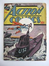 ACTION #54 VG (Nazi U-Boat Cover)