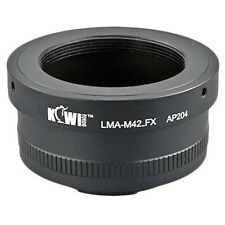 Adapter Mount Ring M42 Lens to Camera Photo Fujifilm X-Pro 1