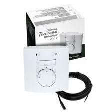 AUBE TH131 stanza e manuale di rilevamento del pavimento termostato riscaldamento a pavimento + Sensore