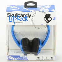 Skullcandy Uprock On-Ear Stereo Headphones Headset - Blue / Black