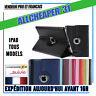 HOUSSE COQUE ETUI CUIR PU IPAD 2/3/4/5 AIR AIR2 MINI ROTATIVE 360° STYLET+FILM