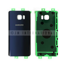 Samsung Galaxy Note 5 N920 Blue Glass Back Cover Housing Battery Door USA Seller