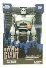 "2020 Walmart Excl. 14"" Light, Sound & Walking ""The Iron Giant"" Robot Figure Nib"