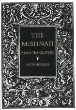 The Mishnah A New Translation  PB 1988 Jacob Neusner Yale University Press