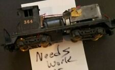 H4 HO scale TRAIN CAR needs work or for parts ENGINE LOCOMOTIVE 364