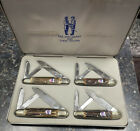 Kissing Crane Germany. Set Of 4 With Case