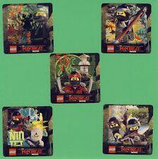10 Lego Ninjago - Large Stickers - Party Favors - Rewards