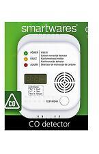 Smartwares RM370 Kohlenmonoxid Warnmelder Display Temperaturanzeige Prüftaste Co