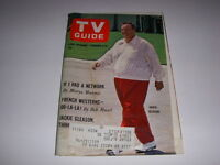 Vintage TV GUIDE, February 6, 1965, JACKIE GLEASON Cover, FRENCH WESTERNS, UNCLE