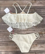 Women's Swim Top bottom sets ivory Swimwear Wholesale Lot Vanilla Beach 40 Pcs