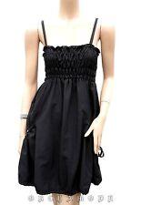 Robe Tunique T UNIQUE = 38 40 42 M L XL Forme boule noir Fête Tunic Dress TBE