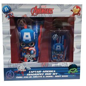 Corsair Toiletries Ltd Marvel Avengers Captain America Fragrance Duo