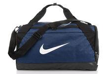 Nike bolsa de deportes Brasilia Small Muletón azul marino