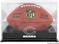 Chicago Bears Black Base Football Display Case - Fanatics