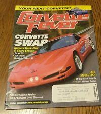 CORVETTE FEVER MAGAZINE 2004 FEBRUARY LT1 L88 396 C5 Z06 C6 STING RAY LS1