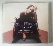 "DENI HINES ""It's Alright"" CD single 1996 1990s pop"