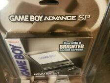 Nintendo Game Boy Advance SP Graphite Handheld System GBA SP New Factory Sealed