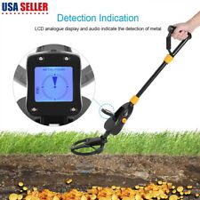 Adjust Height Waterproof Dial Metal Detector Deep Sensitive Gold Digger Hunter
