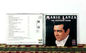 Mario Lanza – The Legendary Tenor, 1987 CD - Opera Legend - NM disc