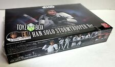 "In STOCK Bandai Star Wars ""Han Solo"" Stormtrooper Ver 1/12 Plastic Model Kit"