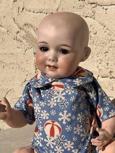"13.5"" George borgfeldt 326 A4M DRGM 250 Bisque Head Doll"