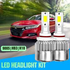 9005 HB3 LED Headlight for Honda Accord 90-2018 Ridgeline 2017-2018 HIGH BEAM