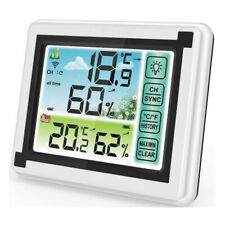 1Pc Weather Station Digital Thermometer Hygrometer Indoor Outdoor Temperature