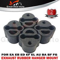 Rubber Exhaust Mount for Ford AU BA EA EB ED EF EL Falcon Fairmont Territory x 4