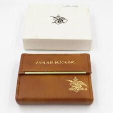 Anheuser-Busch 1981 Sales Convention Pen Paper Double Deck Card Set NiB