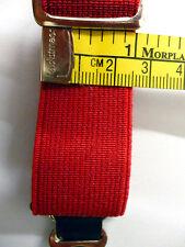 All Red Plain, Suspender Drop, Garter Elastic 1inch/25mm