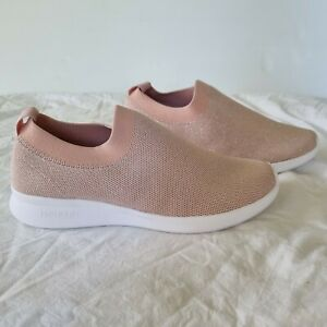 NEW! Holster size US 8/39 casual sneaker comfy slip on rose gold Blaze