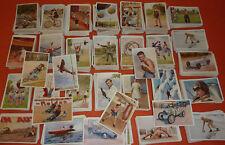 Sanella Margarine Sammlung 3000 Art Deco Sport Sammelbilder 1932 Autorennen etc.
