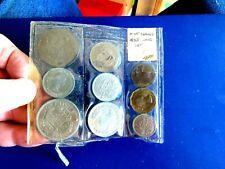 Brilliant Uncirculated 1953 UK Great Britain Mint Set In Original Plastic Sleeve