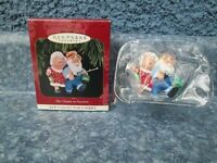 Hallmark Keepsake Ornament The Clauses on Vacation 1997 1st in Series QX6112