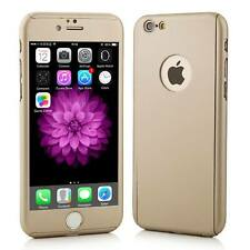 For Apple iPhone 8 Front and Back Full Coverage Case Cover with Tempered Glass