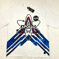 Southpole NASA men's collection white t-shirt NEW size 3XB short sleeve Apollo