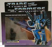 1985 AFA Ready MI(S)B Dirge G1 Transformers Jet Sealed on Card Hasbro not misb