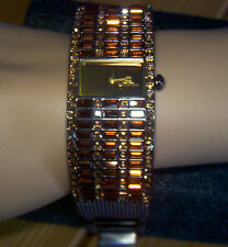 JLO Brown Crystal Watch (Very Hard To Find)