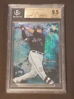 2014 Bowman Sterling Japan Fractors SSP 25/25 BGS 9.5 Michael Conforto RC Rookie