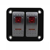 1X(12V-24V 2 grupos Disyuntor de circuito de panel del interruptor basculan 8V5)