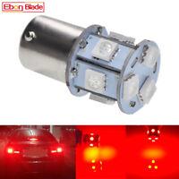 2 X H21W BAY9s 433D Xenon LED 3030 30W CanBus FREE Car Bulbs RED 12V-18V