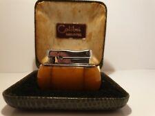 Very rare Vintage Colibri MONOPOL petrol Lighter and original  box.