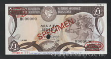 Cyprus Banknote Specimen  P 50s